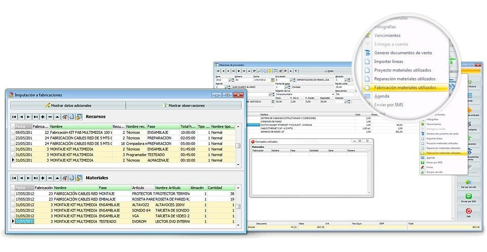 programa software erp fabricacion venta puertas ventanas | Deisa ...